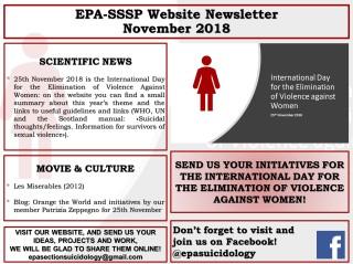 EPA SSSP Newsletter november