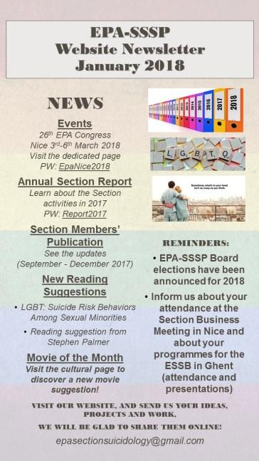 EPA-SSSP Website Newsletter January